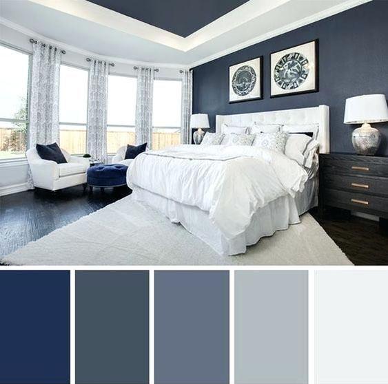 blue white ocean palette