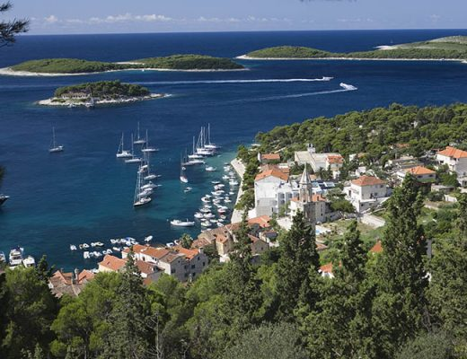 coastal town dalmatia
