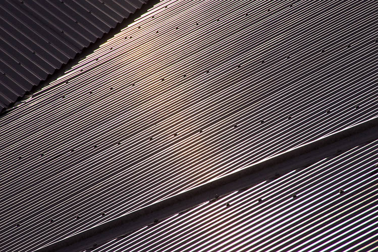 corrugated roof