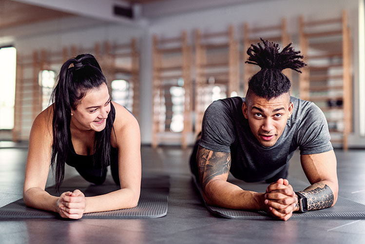 couple workout warm up