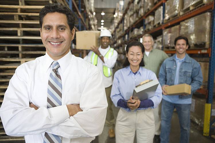 distribution warehouse staff