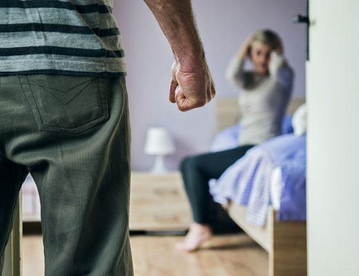 domestic violence man woman
