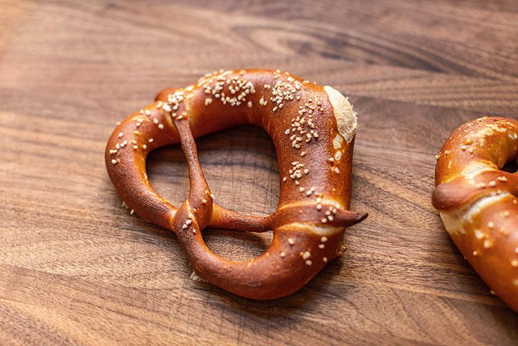 german style pretzel