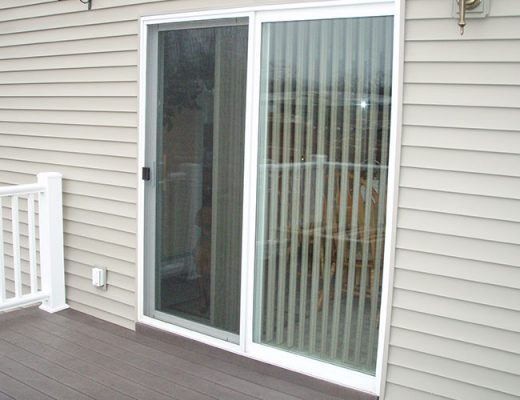 glass patio door