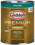 Glidden Premium Semi-Gloss Latex Exterior Paint