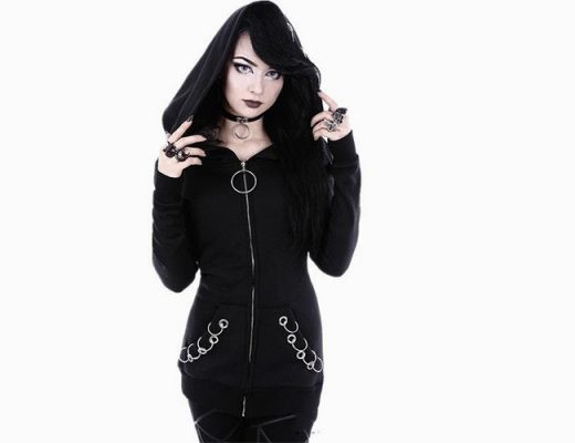 goth style clothing