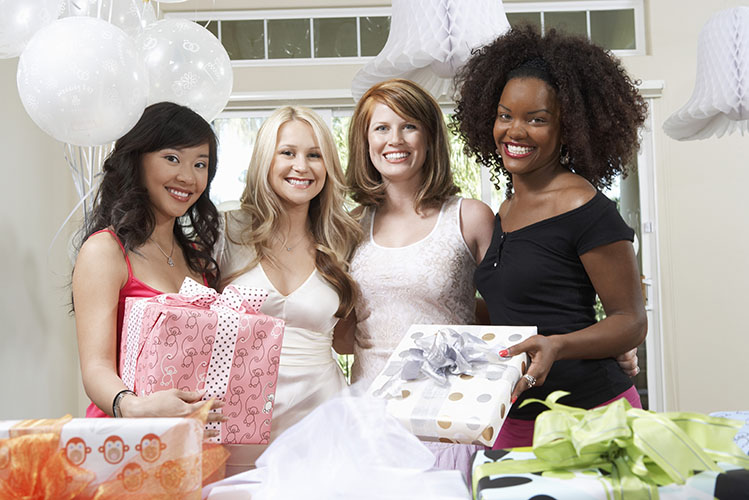 happy girl friends gifts