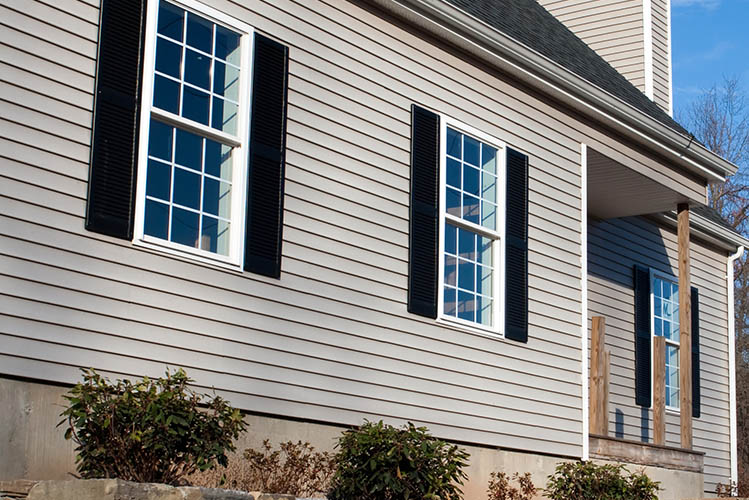 house exterior grey siding