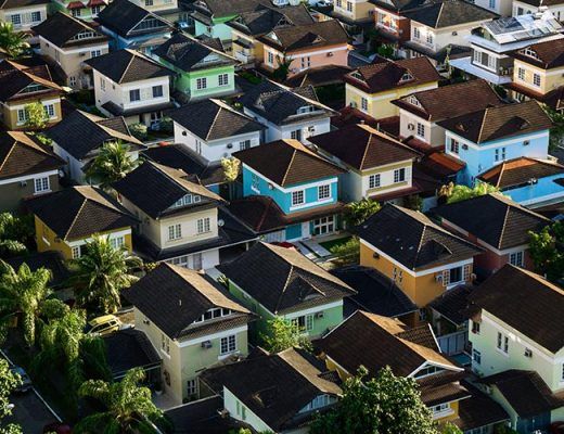 houses different colors