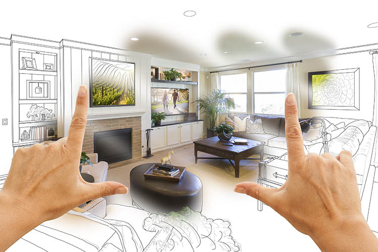 imagining new home renovation