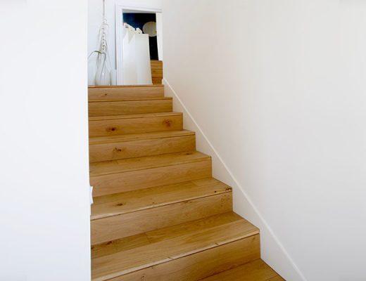 interior wooden stairs
