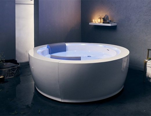 jetted heated therapy bathtub