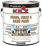 kilz exterior siding fence barn paint