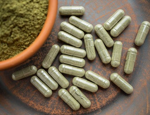 kratom powder pills