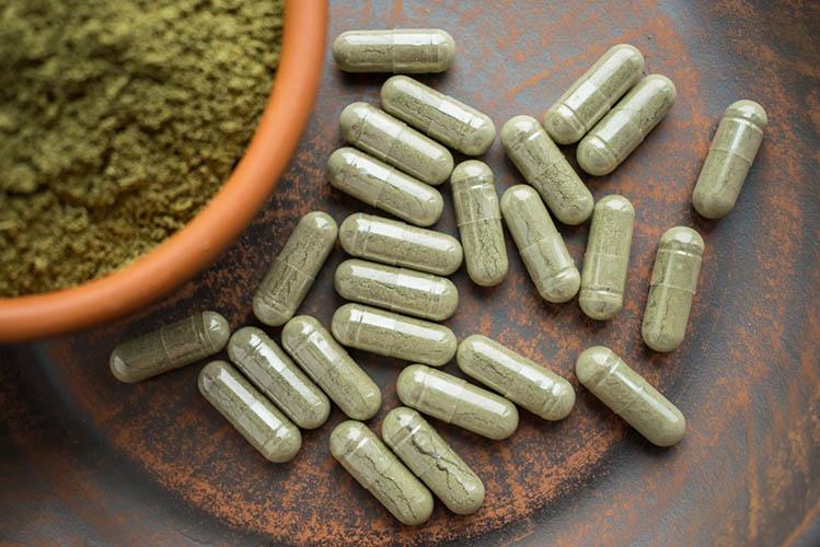 kratom powder pills