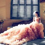 luxurious wedding dress