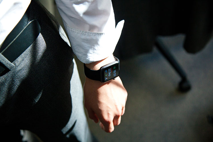man smartwatch photo