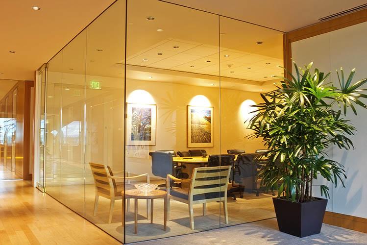 meeting room in office building
