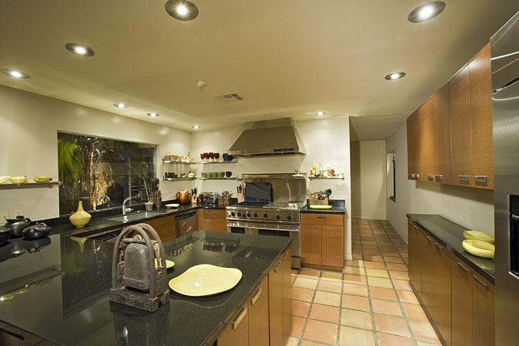modern kitchen wooden cabinets