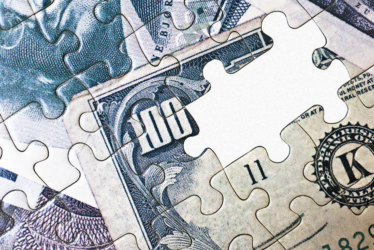 money puzzle missing pieces