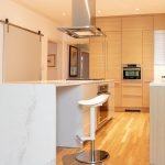 new clean modern kitchen