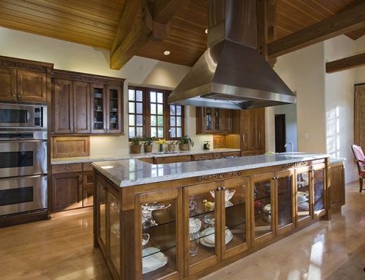 kitchen design wooden cabinets