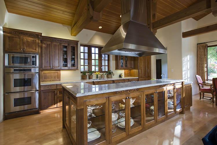 kitchen design wooden cabinets