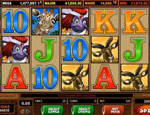 online slot game screenshot