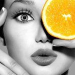 orange slice girl face