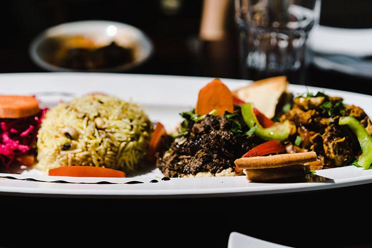 plate of food healthy diet