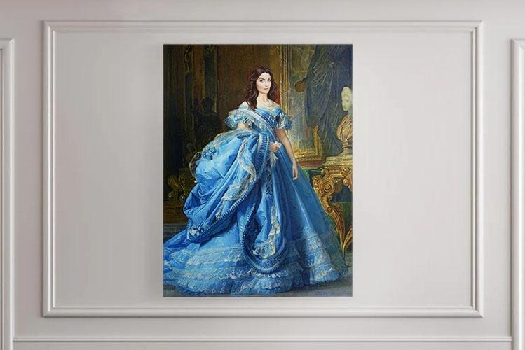 royal portrait queen