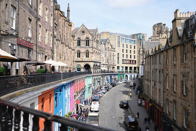 scotland edinburgh street