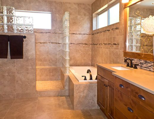 storage solutions in bathroom