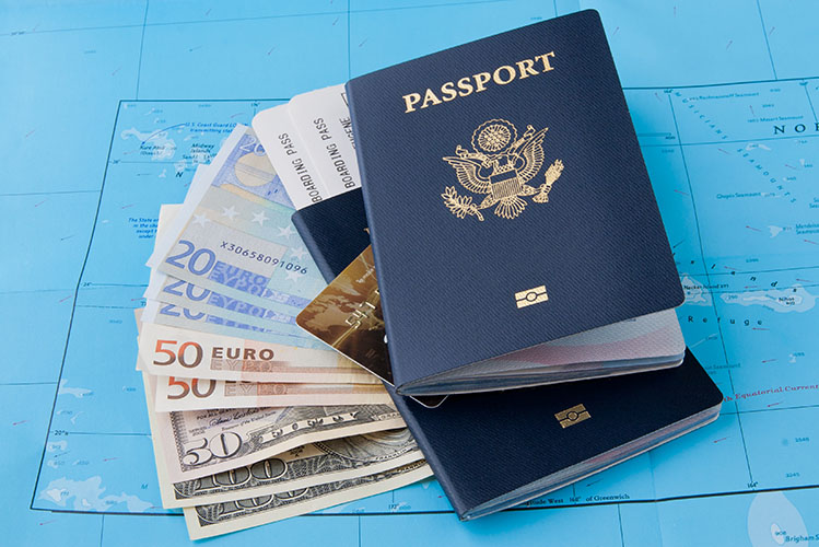 travel passport money