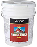 valspar barn and fence paint