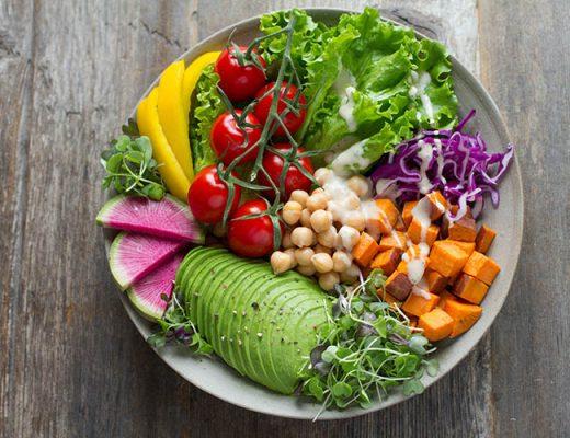 vegan salad box