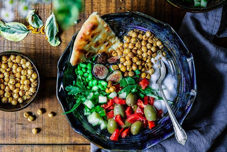 vegetarian food bowl
