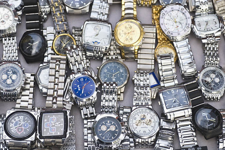 wristwatches collection